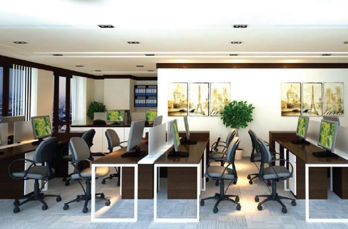 Phí quản lý dịch vụ văn phòng cho thuê