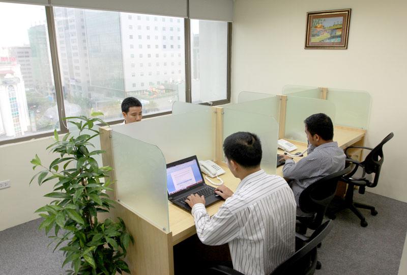 thuê chỗ ngồi làm việc ngắn hạn ở đâu